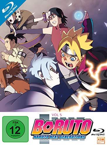 Boruto: Naruto Next Generations - Volume 5 (Episode 71-92) [Blu-ray]