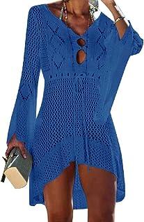 1f163927a3c8 Amazon.it: Blu - Copricostumi e parei / Mare e piscina: Abbigliamento