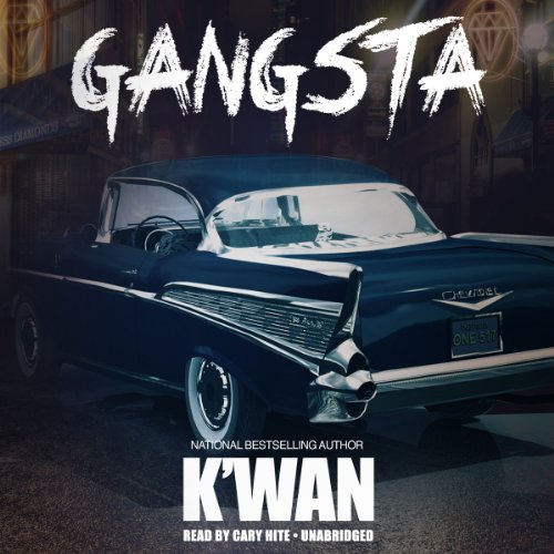 Gangsta audiobook cover art