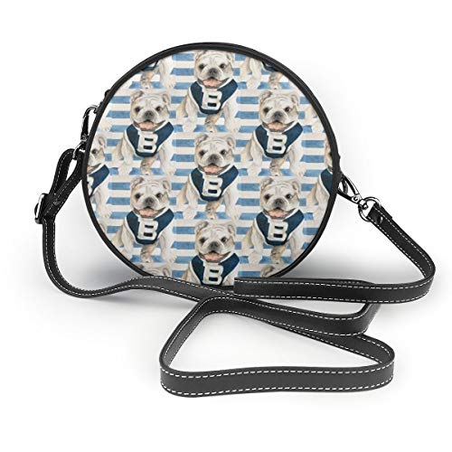 NR Damen Umhängetasche, Butler Blue Iii Reißverschluss, Umhängetasche, runde Handtasche