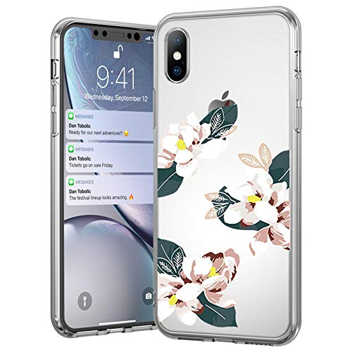 IPhone case FQSCX Soft Silicone Case For iPhone 12 11 7 8 6 6S Plus 5 5s SE Retro Leaves Flowers Phone Cases For iPhone XR X XS Max Back Cover ForiPhone11 4698