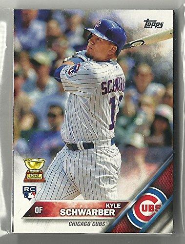 2016 Topps Series 1 & 2 Chicago Cubs Team Set 22 Cards Kyle Schwarber Rookie Card Kris Bryant