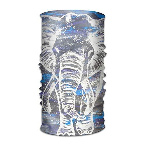 Hoofdband Athletic Indian Elephant Space Multifunctionele Magic Handscarf, Face Mask, Neck Gaiter, Balaclava, sweatband, Head Wrap, Outdoor Sport UV-bestendig.