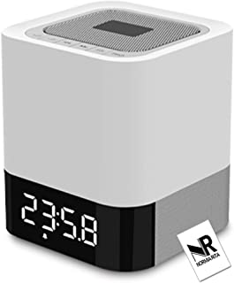 Normia Rita Portable Bluetooth Speakers - Bass Speaker V4.0 with Stereo Sound and Enhanced Bass, Handsfree Calling, Perfect Fit for iPhone/iPod/Tablet/Echo Dot