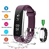 CHEREEKI Fitness Tracker, IP67 Impermeabile Orologio Smartwatch Sleep Monitor Leggi Messaggio da...