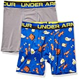 Under Armour Boys' Big Performance Boxer Briefs, Royal F1, YLG