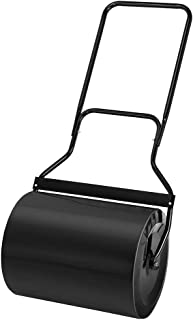 ROVSUN Lawn Roller Water Filled, Push Pull Garden Yard Kit 16-Inch by 19.5-Inch