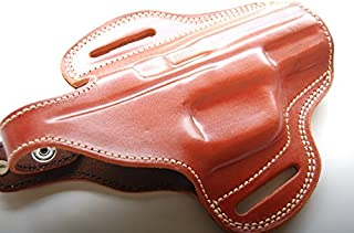 Cal38P07 Cz 75 P07 Duty Custom Belt Leather Holster Tan Black R.H
