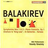Balakirev: Symphonies Nos. 1 and 2 / Piano Concerto in F-Sharp Minor / Tamara / in Bohemia