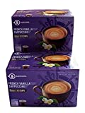 Barissimo French Vanilla Cappuccino Coffee Cocoa Pods 2 Pack K-Cup Compatible