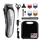Wahl Lithium Ion Pro Series Cordless Animal Clippers – Rechargeable, Quiet, Low Noise, Heavy-Duty,...