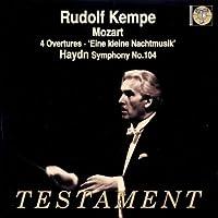 Mozart: 4 Overtures / Eine Kleine Nachtmusik / Haydn: Symphony No. 104 (2002-11-29)