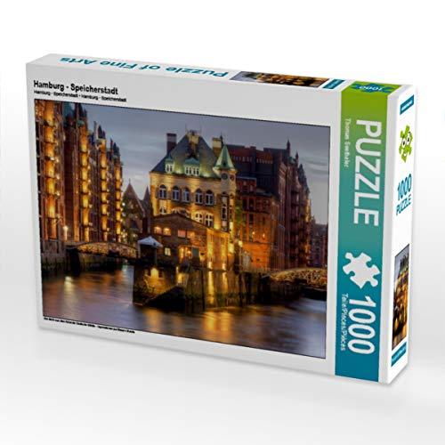 Hamburg   Puzzle (1000 Piezas), diseño de Ciudad del Espacio