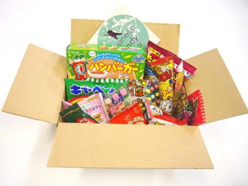 16 Japanese Candy and Snack Okashi Set with original Japanese Candy Ninja sticker