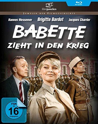 Babette zieht in den Krieg - mit Brigitte Bardot (Filmjuwelen) [Blu-ray]