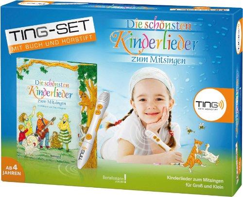 TING Starter-Set Die schönsten Kinderlieder zum Mitsingen: Buch inklusive Hörstift