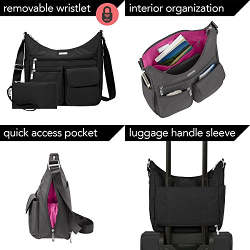 Baggallini Women's Everywhere Bagg with RFID, Apple