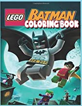 Lego Batman Coloring Book: Lego Batman Awesome Illustrations for Kids , To Inspire Creativity And Relaxation. A Perfect Gift For Kids And Adults