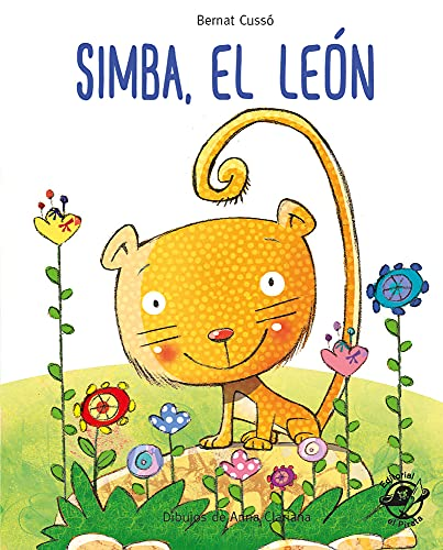 Simba, el león: En letra MAYÚSCULA y de imprenta: libros para niños de 5 y 6 años (Aprender a leer en letra MAYÚSCULA e imprenta)