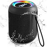 Portable Bluetooth Speaker,Torteco E7-L Bluetooth Mini Speaker, Bassup,Gradient Light,IPX65 Waterproof,13-Hour Playtime, Wireless Stereo Dual Pairing,Speaker for Home,Outdoors,Travel (Renewed)