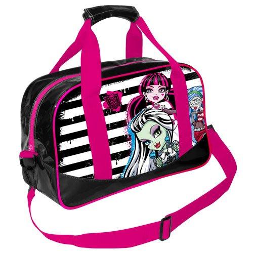 Monster High 07750 - Borsone Sportivo per Bambini, 45 cm, Colore: Rosa