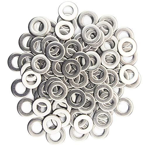 Easycargo 100 Stück Unterlegscheiben Edelstahl 304 Beilagscheiben (M3)