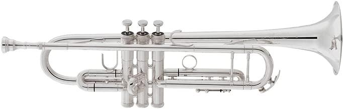 King 2055 Silver Flair Series Bb Trumpet 2055S Silver 1st Valve Thumb Saddle