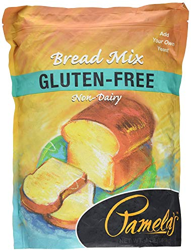 Pamela's Products Amazing Gluten-free Bread Mix, 4-Pound Bag (Pack - 3)
