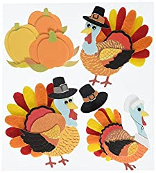 Thanksgiving Dimensional Stickers
