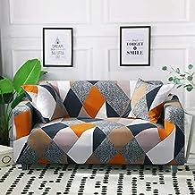 Housse de canapé Extensible élastique, Housse de canapé modulaire d'angle pour Le Salon, Housse de canapé en Forme de L an...