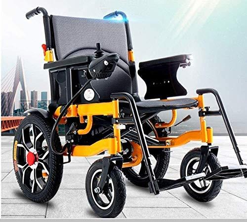 Yuzhonghua Los Adultos de Edad Avanzada con discapacidad Peso Ligero Silla de Ruedas eléctrica for facilitar Adulto Plataforma de Transporte Silla de Ruedas eléctrica
