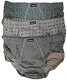 Abanderado AS00090, Slip para Hombre, Multicolor (Damero Verd/Flor Verd/Pino Ver), XXXXXX-Large (Tamaño del fabricante:XEG/60), (Pack de 3)