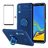 AKABEILA Samsung A7 2018 Case Screen Protector, Compatible