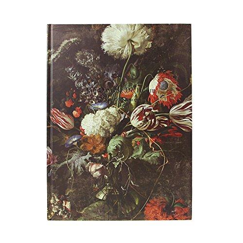 Notebook cuaderno diario estilo vintage Utilisez protectora flores para agenda para pintura colores esbozo Note planifications notas LISTA para dibujo escribir regalo, color estilo 1 34 * 25 * 2cm