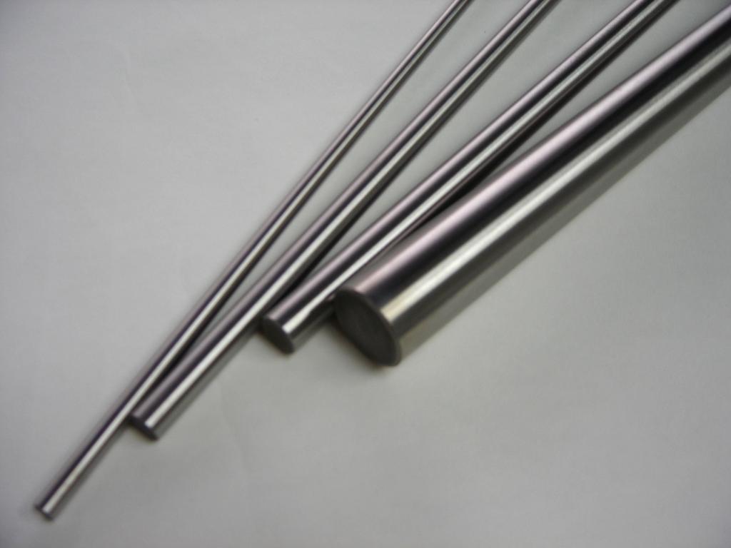 Pure Tungsten Rod Unpolished D L 0.25