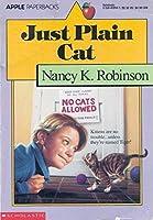Just Plain Cat 0590458507 Book Cover