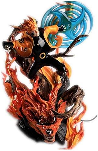 ZDVHM Naruto Figura de acción Kyubi Uzumaki Naruto Rasengan Anime Figura 13 77/35 cm Modelo de Caracteres Estatua Estatua Adornos de Escritorio Artículos de Escritorio Regalos de Juguetes