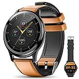 elegiant fitness activity tracker, smartwatch bluetooth 5.0 orologio impermeabile ip68 con 1,3'' schermo toccato 2 cinturini 128mb capacità 24 sport per iphone samsung huawei motorola nokia ecc