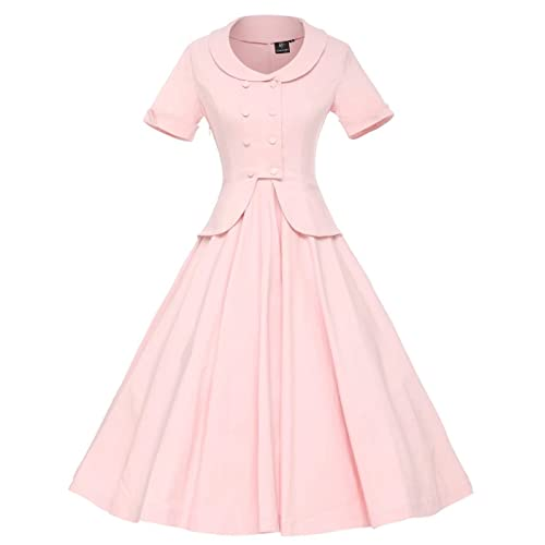 GownTown Womens Vintage 1950s Retro Rockabilly Prom Dresses