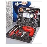 Best Cordless Power Drills - Mokshith Cordless Hammer Drill Tool Kit 100pcs Household Review