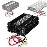 tectake Convertisseur de Tension Sinus modifiée Power Inverter 12V en 220V - diverses modèles au Choix - (Type 1 (400976))