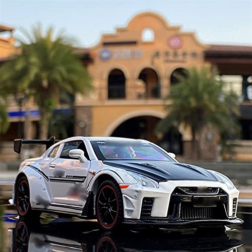 KXSM 1:32 para N-Issan-Skyline Ares para GTR R34 R35 DIcasts & Toy Vehicles Metal Toy Model Model Simulation Pull Back Collection Niños Juguetes (Color : White)