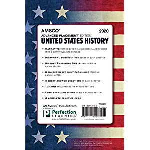 Advanced Placement United States History, 2020 Edition