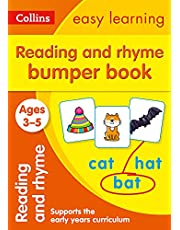 Reading and Rhyme Bumper Book Ages 3-5: Prepare for Preschool with Easy Home Learning