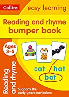 Reading and Rhyme Bumper Book Ages 3-5: Ideal for Home Learning (Collins Easy Learning Preschool)