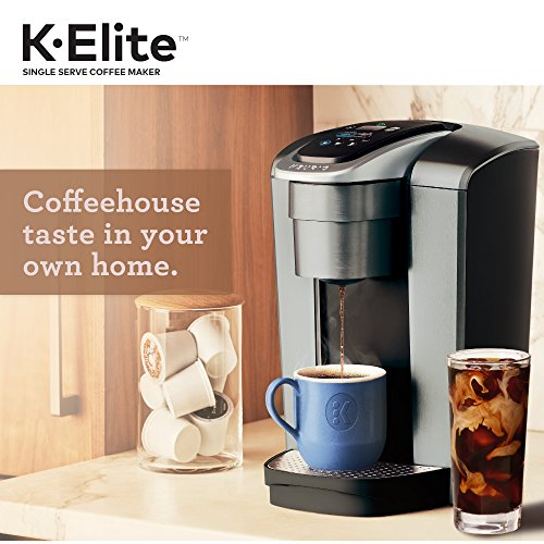 Keurig K-Elite Single Serve Coffee Maker with K-Cup