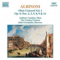 Albinoni: Oboe Concerti, Vol. 1 (1994-02-15)