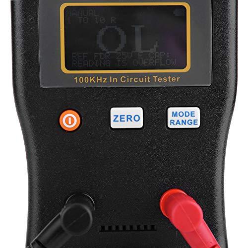 5.7 * 3.2 * 1.2in MESR-100-Kapazitätsmesser, MESR-100 Auto-Messgerät für die Messung der ESR-Widerstandskapazität im Stromkreis