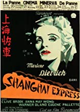 Shanghai Express Poster Movie Foreign 11x17 Marlene Dietrich Clive Brook Anna May Wong Warner Oland