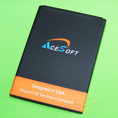 AceSoft 2400mAh 3.8V Extended Slim Battery for T-Mobile/AT&T ZTE MF64 Z64 4G LTE Hotspot